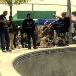 Air at Clash at Clairemont Skateboard Contest 2011