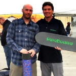 Bryan Patch took home a blue PipeBoard Balance Board at Clash at Clairemont Skateboard Contest 2011