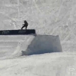 Snowboarder Shawn White Training