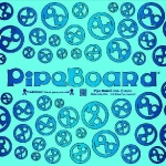 Blue PipeBoard Balnce Board Graphics