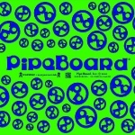 Green-and-Blue PipeBoard Balnce Board Graphics
