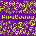 Purple PipeBoard Balnce Board Graphics